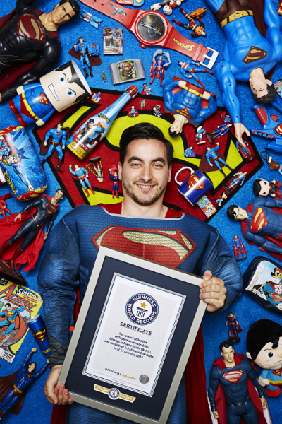 Largest collection of superman memorabilia 2