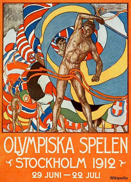 The 1912 Summer Olympics were the first Games to host athletes from all six populated continents