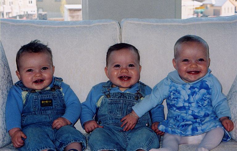 Heaviest birth - triplets (current)
